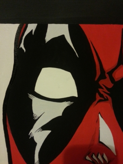 Deadpool Close-up 1