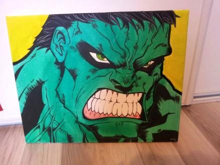 Hulk finish