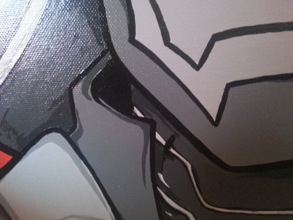 War Machine close-up 2